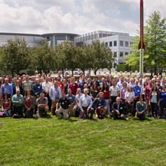 The MSL science team at a team meeting at the Canadian Space Agency. (You can find me on the far left!)
