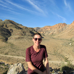 On site in Namibia during the Agouron Institute Advanced Geobiology Field School.