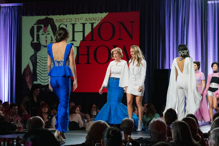 Final Parade at the NBCCD Fashion Show.