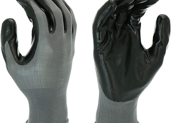 Hyper Tough Multipurpose Nitrile-Grip Gloves (1 Pr.)