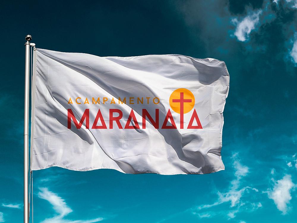 Bandeira Acampamento Maranata