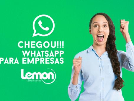 WhatsApp Business é lançado, e agora seus negócios vão decolar.