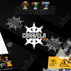 Identidade Visual Caravela Bar