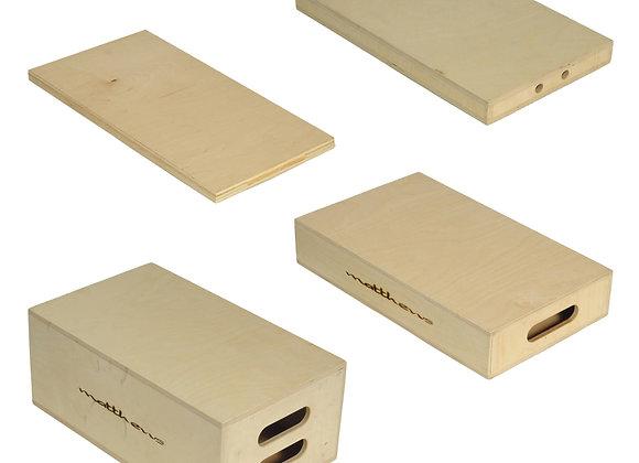 Alan Gorden Enterprises Set of Four Apple Boxes