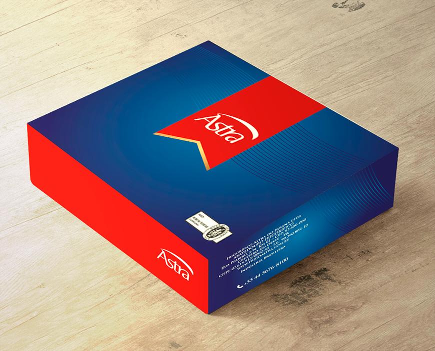 Caixa Exportação Azul