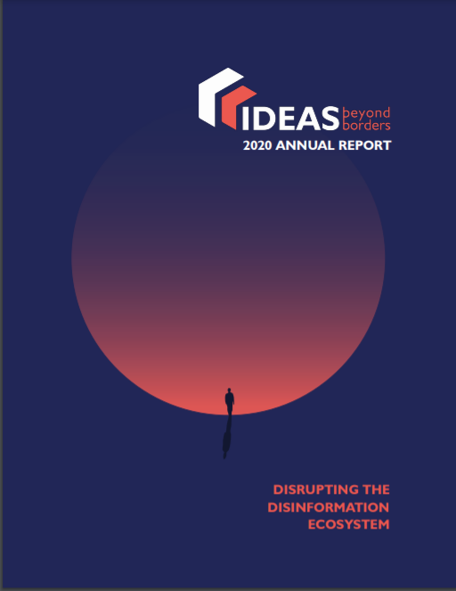 2020 annual report for Ideas Beyond Borders cover image