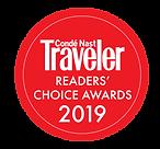 Conde Nast Traveler Readers Choice Award, Caesars Gardens Hotel & Spa