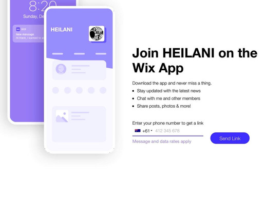 HEILANI APP - How to download & utilise