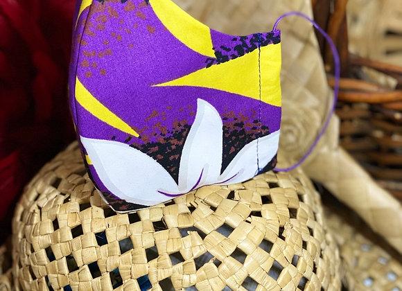 Purple Tiare Mask