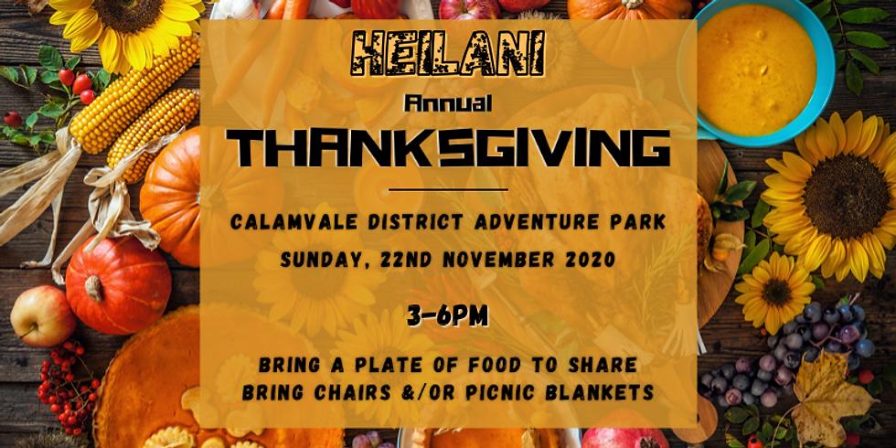 HEILANI - Annual Thanksgiving