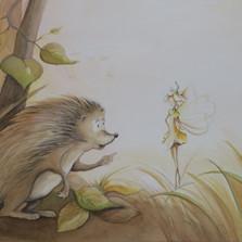 Der kleine Igel und seine Freundin Margaritha