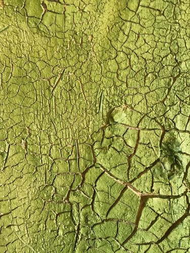 Detailansicht Lehm mit Grüner Erde