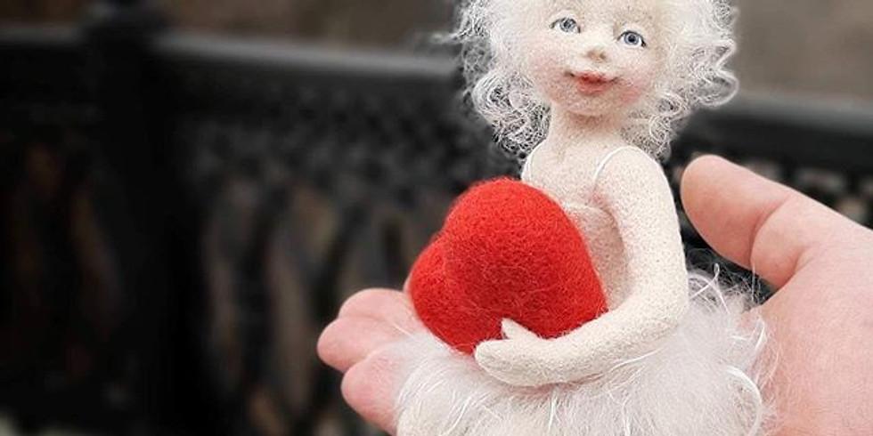 POSTPONED-Seated Artist Doll with Anna Potapova