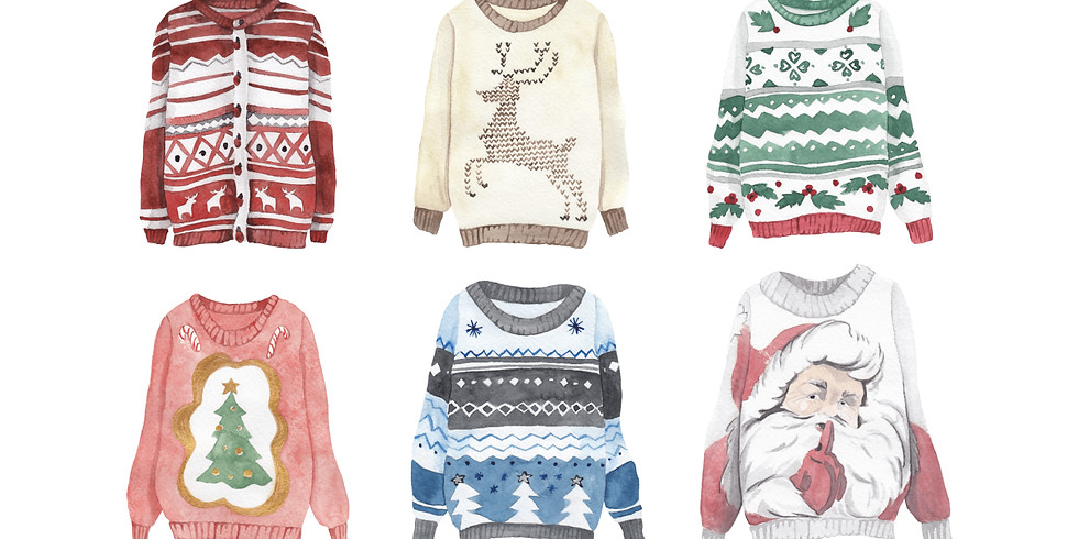 Ugly Sweater Sale and Contest