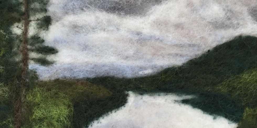 Needle Felted Landscape with Chris Pellerin