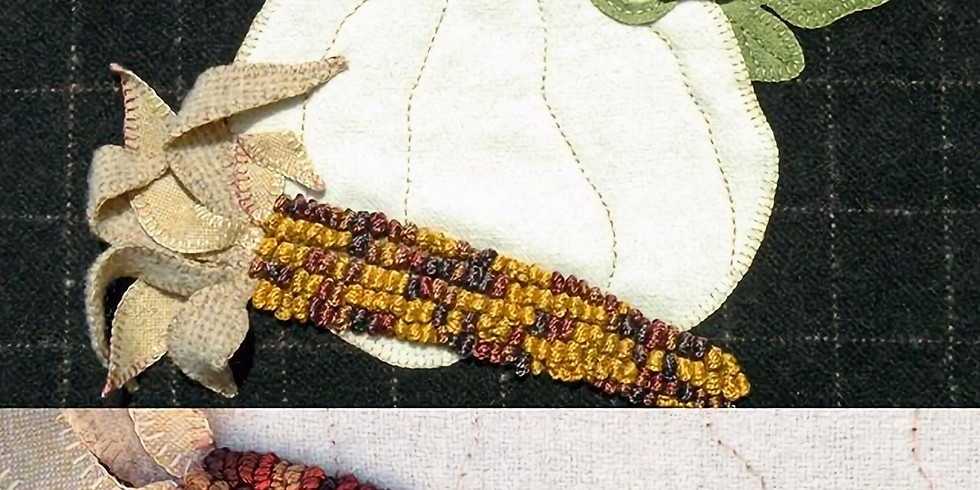 Rescheduling Dimensional Wool Appliqué Class with Kathy J. Gaul of Meetinghouse Hill Designs