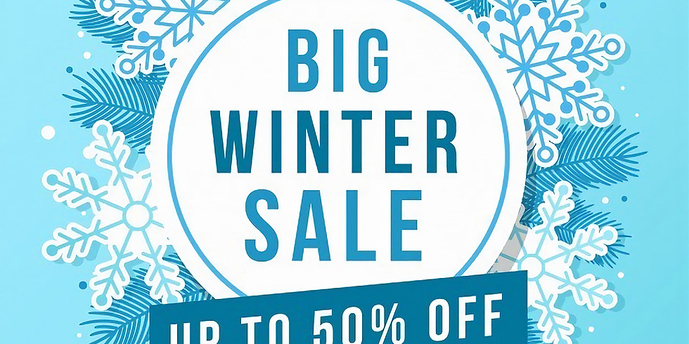 Winter Sale Event!!!