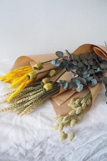 Fleurs séchées à la botte