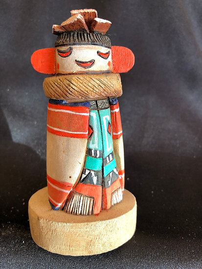 Hopi Kachina Carving by Thomas Fredericks
