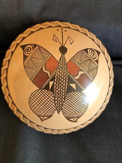 Hopi Pottery Clay Seed Pot