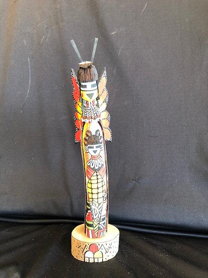 Hopi Kachina Carving by Calvin Pavatea