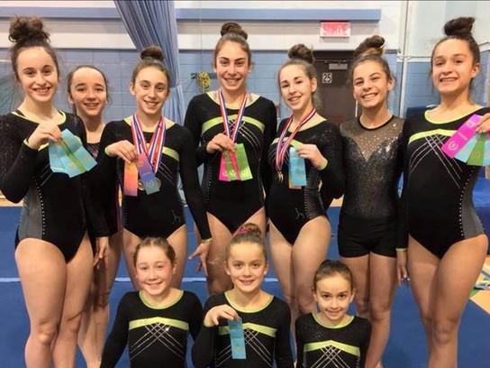 Le club de gymnastique Gym As de Marieville se joint à la Course du député!