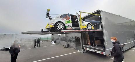 Gestion du catering pour l'écurie DRM Motorsport du premier week-end Fun Cup