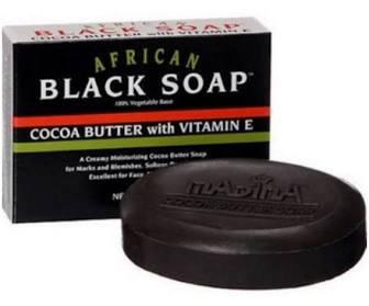 Madina African Black Soap