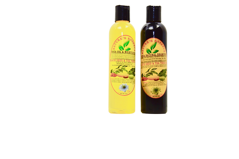 Nature's Essence Shea Natural Black Seed & Tea Tree Oil HAIR CARE
