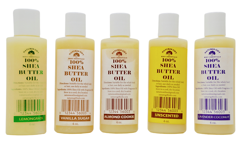 NATURE'S GIFT Shea Butter Oil