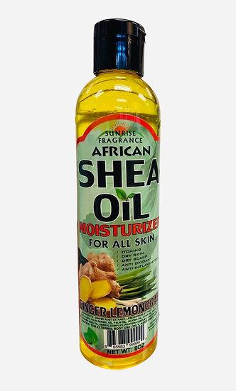 Ginger Lemongrass African Shea Oil