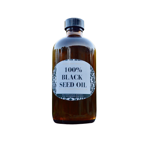 100% Virgin Organic Black Cumin Seed Oil