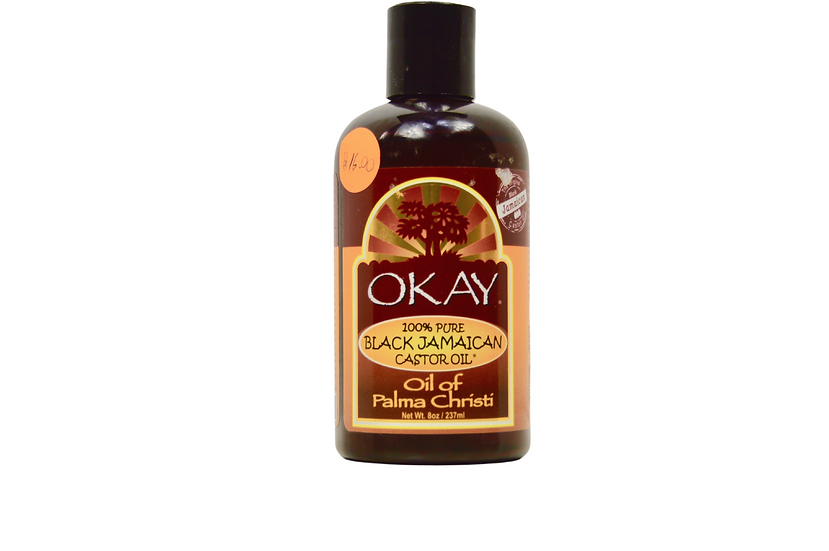 100% Pure Black Jamaican Castor Oil