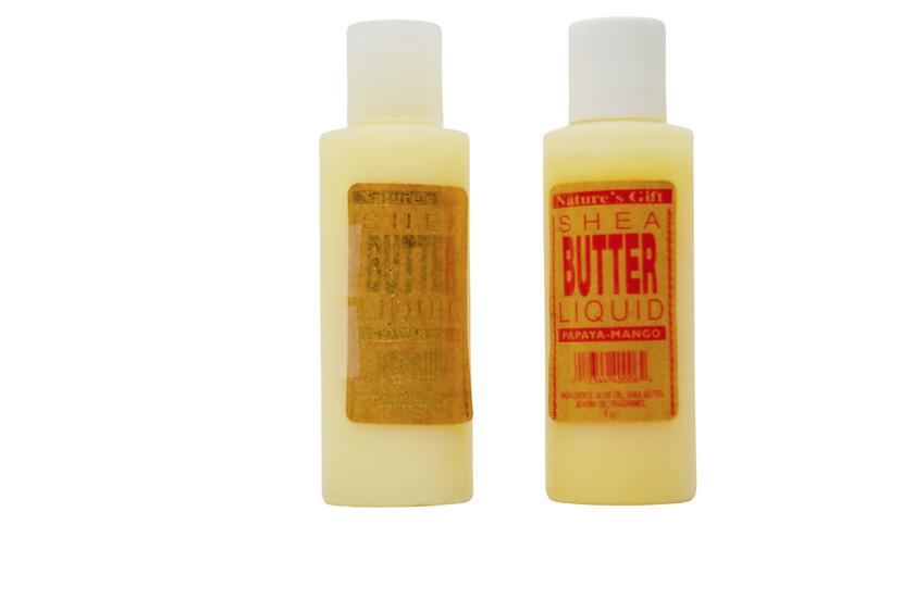 NATURE'S GIFT Shea Butter Liquid