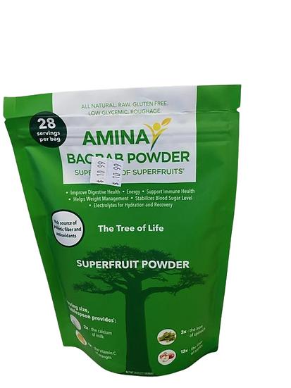 Amina Baobab Powder//Superfruit Powder