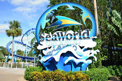 Sea World Sign