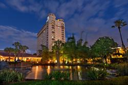 Orlando night shot of hotel 2019