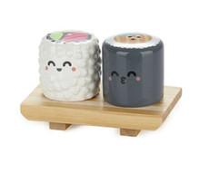 Salière poivrière sushi