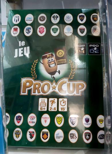 Jeux de société PRO CUP Rugby