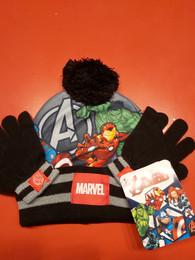 Bonnet et gants Avengers