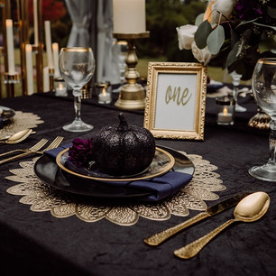 River Farm wedding table setting