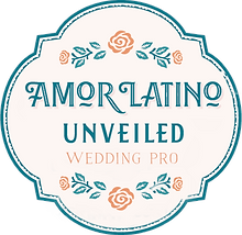 Amor Latino UnveiledEast Coast Wedding Directory Wedding Pro Logo