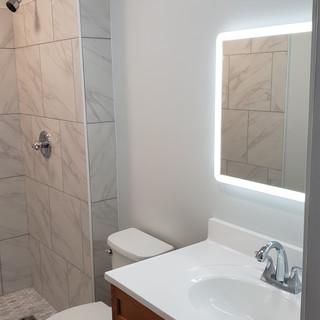 Backlight vanity mirror