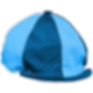 Riding hat silk in SRC colours