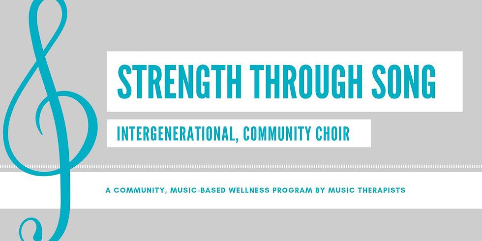Strength Through Song: Community Choir