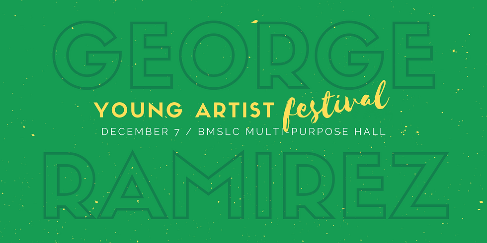 George Ramirez Young Artist Festival