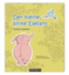 Kinderbuch, eine berührende Geschichte von Eli. Der kleine, pinke Elefant hat eine besondere Gabe. Sie kommt zum Vorschein, wenn er an sich glaubt.
