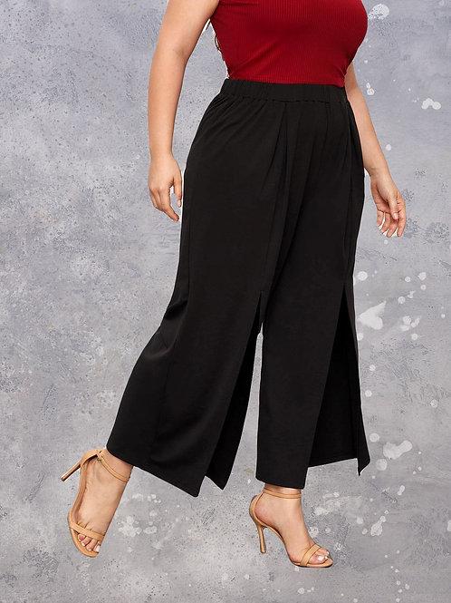 Split Leg Wide Pants