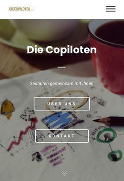 Website Die Copiloten GmbH