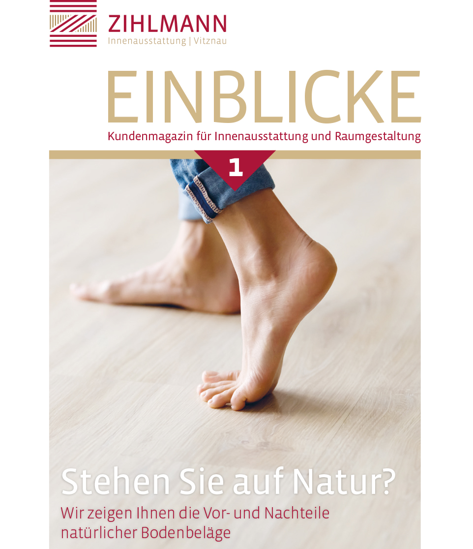 Kundenmagazin Zihlmann Innenausstatt
